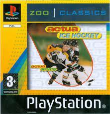 Actua Ice Hockey zoo classics (ps1 tweedehands game)