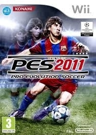 PES 2011 (Nintendo Wii used game)
