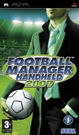 Football manager 2007 (PSP used game)