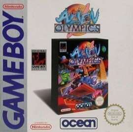 Alien Olympics losse cassette (Gameboy tweedehands game)