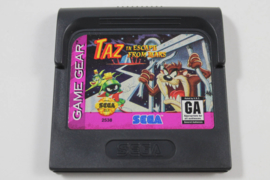 Taz in escape from Mars losse cassette (Sega Game Gear Tweedehands game)