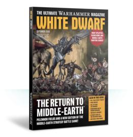 White Dwarf September 2018 Magazine  (Warhammer Nieuw)