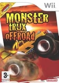 Monster Trux offroad (wii used game)
