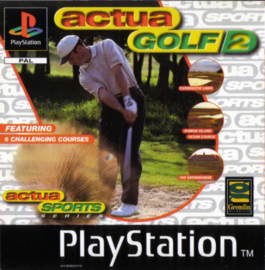 Actua Golf 2 (PS1 tweedehands game)