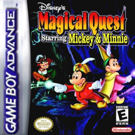 Disney's Magical Quest Mickey & Minnie  (Losse Cassette) (Gameboy Advance tweedehands game)