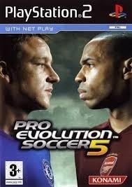 Pro Evolution Soccer 5 (ps2 used game)