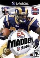 Madden NFL 2003 (Gamecube used game)