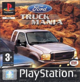 Ford Truck Mania (PS1 tweedehands game  game)