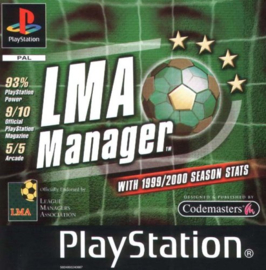 LMA Manager (PS1 tweedehands game)