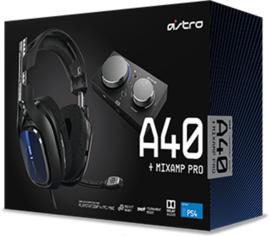 ASTRO A40 TR Gaming Headset met MixAmp Pro TR ( PS4 nieuw)