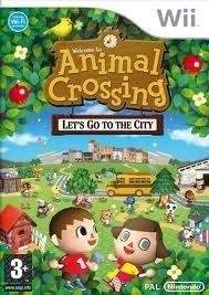 Animal Crossing Let's go to the City (wii nieuw)