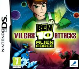 Ben 10 Alien Force Vilgax Attacks (DS nieuw)