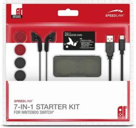 Speedlink 7-IN-1 Starter Kit - Zwart - Switch (Nintendo Switch Nieuw)