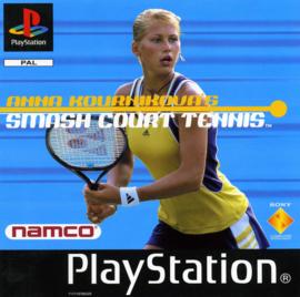Anna Kournikovas Smash Court Tennis  (PS1 tweedehands game)