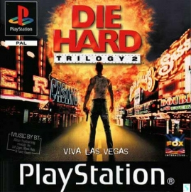 Die Hard Trilogy 2 doosje beschadigd (PS1 tweedehands game)