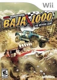 Score international Baja 1000 World Championship racing zonder boekje wii