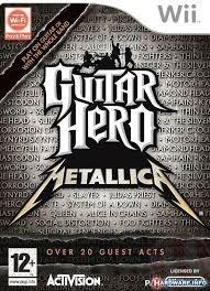 Guitar Hero Metallica zonder boekje (Nintendo Wii tweedehands game)