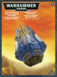 Space Marine Drop Pod koopje (Warhammer Nieuw)