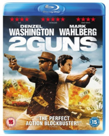 2 Guns (Blu-ray tweedehands film)
