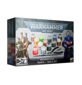 Warhammer 40000 Paints plus Tools Set (Warhammer 40.000 nieuw)