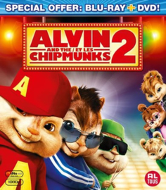 Alvin and the Chipmunks the Squekquel Blu-ray + DVD (Blu-ray tweedehands film)