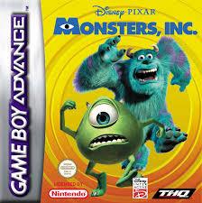 Disney's Pixar Monsters Inc   (Losse Cassette) (Gameboy Advance tweedehands game)
