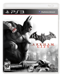 Batman Arkham City zonder boekje (ps3 used game)