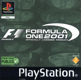 Formula One 2001 (ps1 used game)
