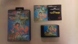 Disney Le Livre de la Jungle (Sega Mega Drive tweedehands game)