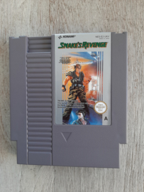Snake's Revenge losse cassette (NES tweedehands game)