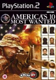 America's 10 Most Wanted zonder boekje (ps2 tweedehands game)