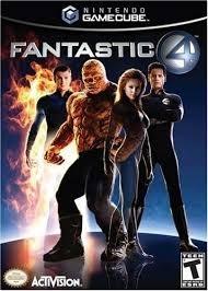 Fantastic four zonder boekje (gamecube tweedehands game)