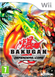 Bakugan Defenders of the core (Wii used game)
