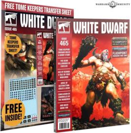 White Dwarf Issue 465 - Juni 2021 (Warhammer nieuw)