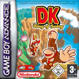 Donkey Kong King of Swing zonder cover (Gameboy Advance tweedehands game)