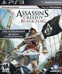 Assassin's Creed IV Black Flag zonder boekje (ps3 used game)