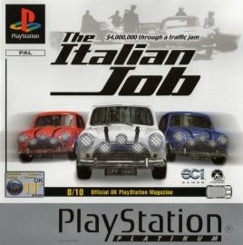 The Italian Job Platinum (PS1 tweedehands game)