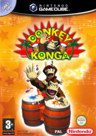 Donkey Konga (software only) (Nintendo Gamecube tweedehands)