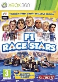 F1 Race Stars Valencia Street Circuit Edition (xbox 360 nieuw)