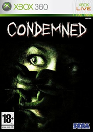 Condemned beschadigde cover (Xbox 360 used game)