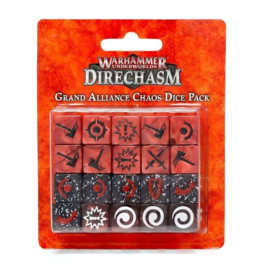 Dire Chasm Grand Alliance Chaos Dice Pack (Warhammer nieuw)
