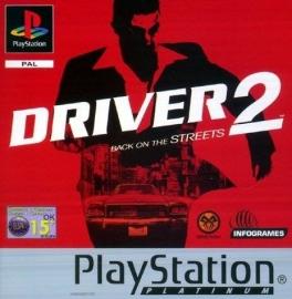 Driver 2 Platinum (PS1 tweedehands game)