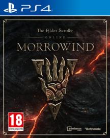 The Elder Scrolls Online Morrowind Duitse cover Engels spel (ps4 Nieuw)