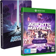 Agents of Mayhem Steel case (xbox one nieuw)
