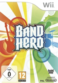 Band Hero software only (Wii nieuw)