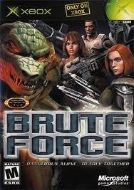Brute Force zonder boekje (xbox used game)