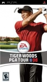 Tiger Woods PGA Tour 08 (psp used game)