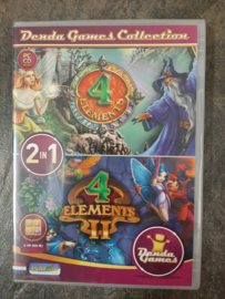 4 elements  - 2 in 1 (pc game nieuw)