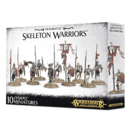 Death Rattle Skeleton Warriors  (Warhammer Nieuw)