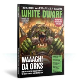 White Dwarf November 2018 Magazine  (Warhammer Nieuw)
